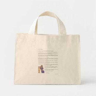 As A Woman Mini Tote Bag