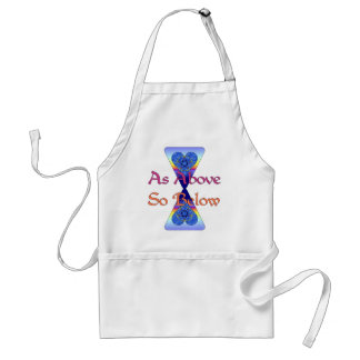 As Above So Below Adult Apron