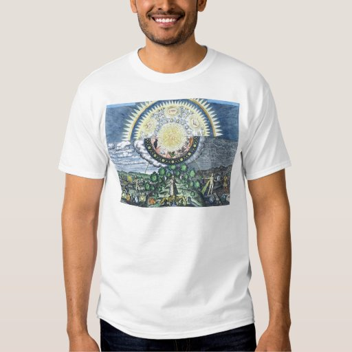 As above so below alchemy shirt zazzle for Alchemy design t shirts