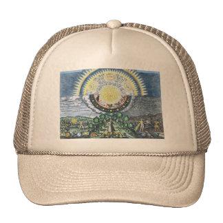 As Above, So Below Alchemy Shirt Trucker Hat