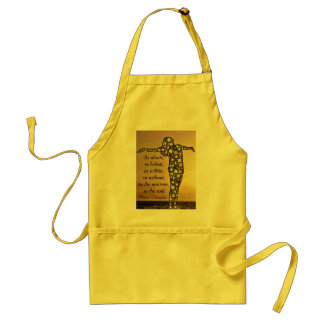 AS ABOVE, SO BELOW apron