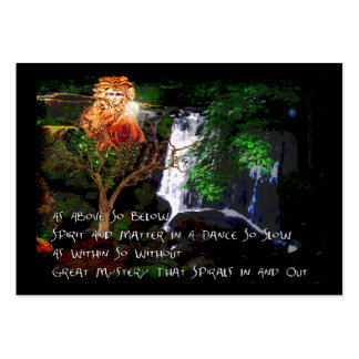 As Above So Below Large Business Cards (Pack Of 100)