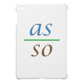 as above so below iPad mini covers