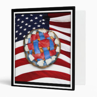 As American As a Red White & Blue Apple Pie Binder