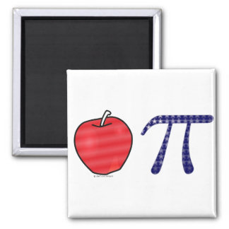 As American as Apple Pi Fridge Magnets