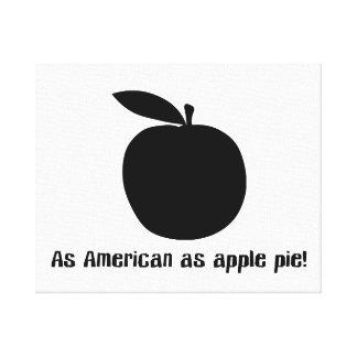As American As Apple Pie Canvas Print