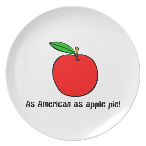 As American As Apple Pie Party Plates