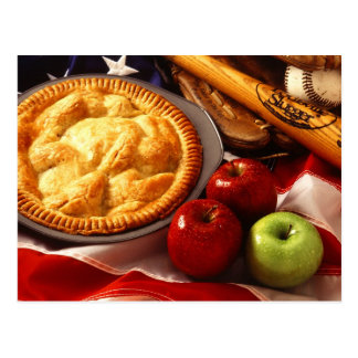 As American as apple pie! Postcard