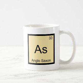 As - Anglo Saxon Funny Chemistry Element Symbol T Coffee Mug