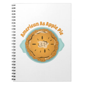 As Apple Pie Spiral Note Book