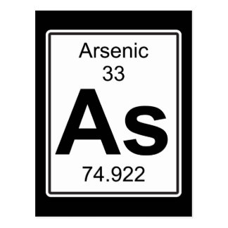 As - Arsenic Postcard