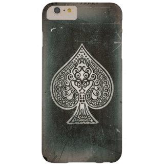As artístico retro del póker del Grunge fresco de Funda Barely There iPhone 6 Plus