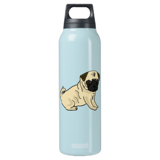 AS- Awesome Pug Insulated Water Bottle