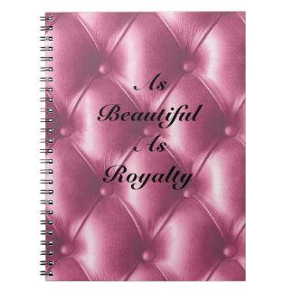 As Beautiful As Royalty Notebook
