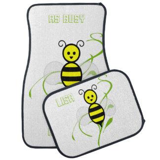 As Busy As A Bee Car Mats