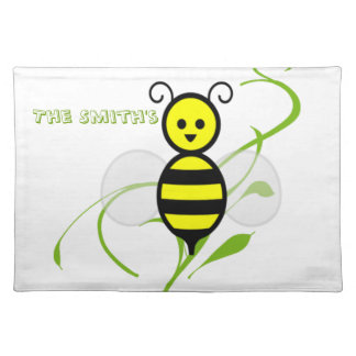As Busy As A Bee Cloth Placemat