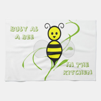 As Busy As A Bee Kitchen Towels