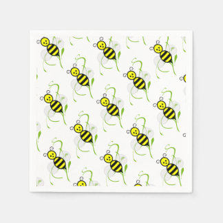 As Busy As A Bee Napkins