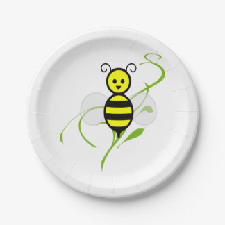 As Busy As A Bee Paper Plate