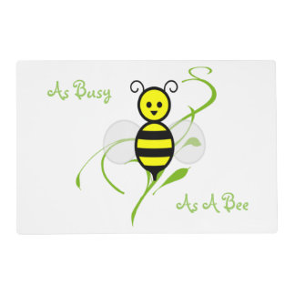 As Busy As A Bee Placemat