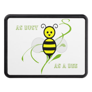 As Busy As A Bee Trailer Hitch Cover