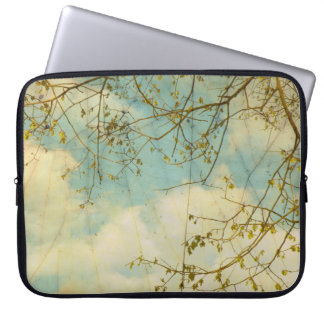 As Clouds Float By Laptop Sleeve