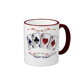 As con la taza del diseño