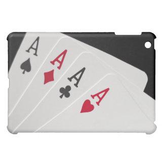 As cuatro de un caso del iPad de la clase