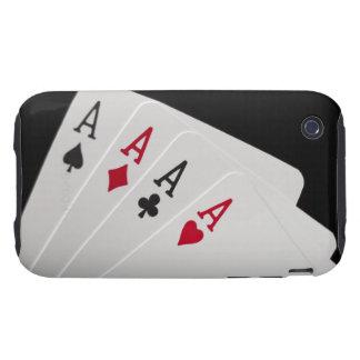 As cuatro de una clase tough iPhone 3 protectores