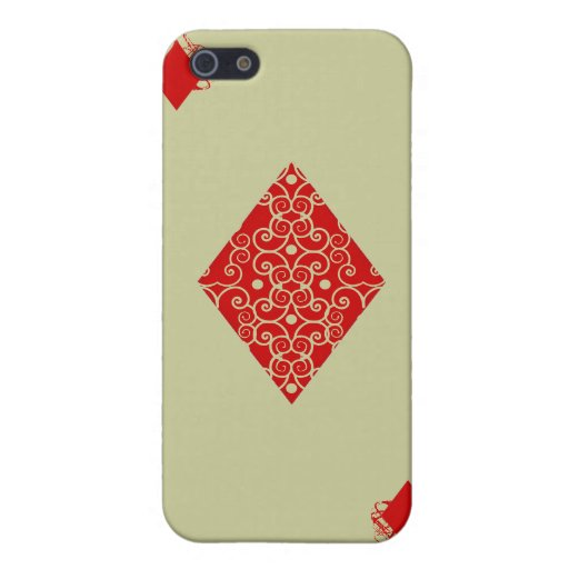 As de diamantes iPhone 5 protector