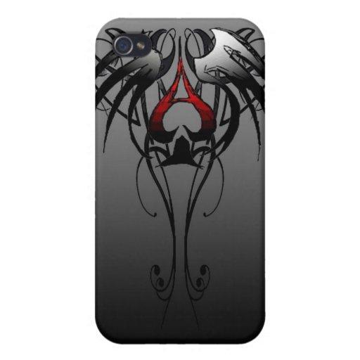 as de espadas iPhone 4 cárcasas
