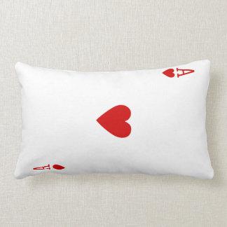 As de la almohada del naipe de los corazones (part
