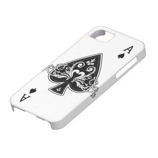 As de la caja de las espadas iPhone5 iPhone 5 Fundas
