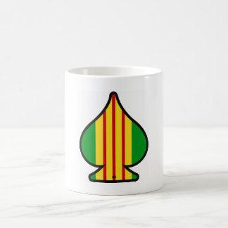 As de la cinta de Vietnam de la taza de café de la