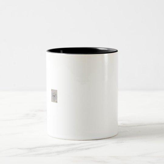 As de la taza decorativa del vidrio del café de