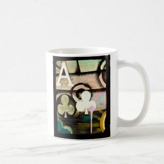 As de la taza del póker del café de la PINTADA del