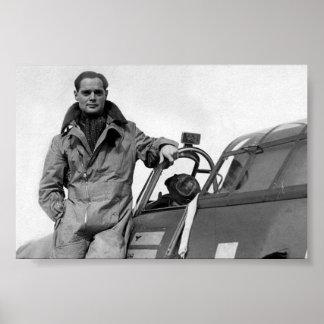 As del aire: Capitán de grupo sir Douglas Bader Póster