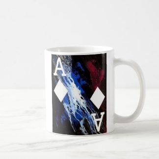 As del arte del póker de la taza de café del diseñ