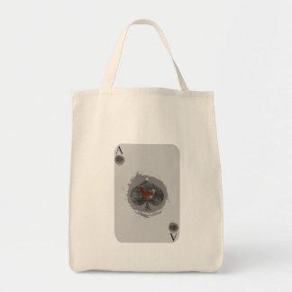 As del bolso de ultramarinos del pollo de las bolsa tela para la compra