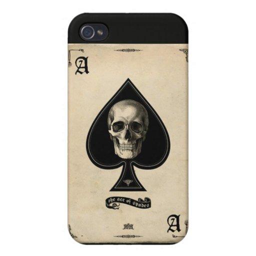 as del caso del iPhone de las espadas iPhone 4/4S Carcasa