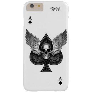 As del cráneo del caso más del iPhone 6 de las Funda De iPhone 6 Plus Barely There