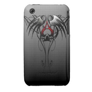 as del diseño tribal de las espadas iPhone 3 cobertura