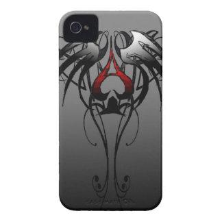 as del diseño tribal de las espadas iPhone 4 Case-Mate fundas