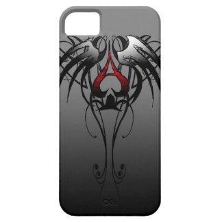 as del diseño tribal de las espadas iPhone 5 Case-Mate cárcasas