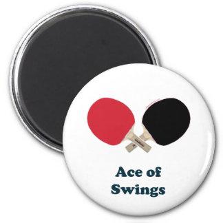 As del ping-pong de los oscilaciones iman para frigorífico