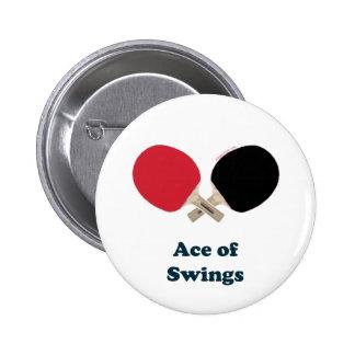 As del ping-pong de los oscilaciones pin redondo 5 cm