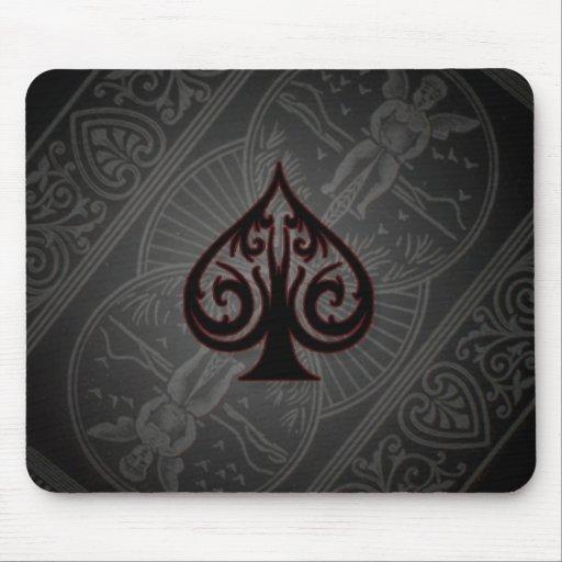 as del póker de espadas tapete de raton