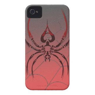 as del póker de la caja del teléfono de la araña d iPhone 4 Case-Mate funda