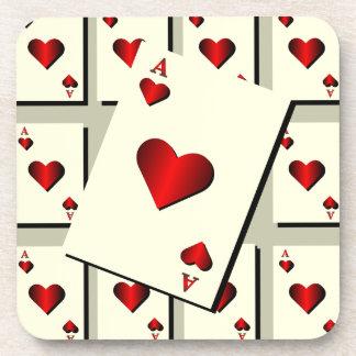 As del práctico de costa de los corazones posavasos