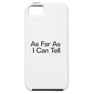 As Far As I Can Tell iPhone SE/5/5s Case